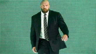 Triple H durante RAW