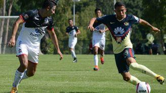 Gerson Torres en un partido con la Sub 20 de América