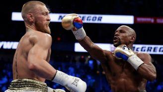 Mayweather lanza un golpe contra McGregor