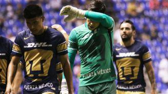 Pumas lamenta derrota frente a Puebla en la J15 del A2017