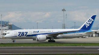 Un avión Boeing 787-8 de la aerolínea All Nippon Airways