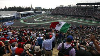 Aficionados disfrutan del GP de México