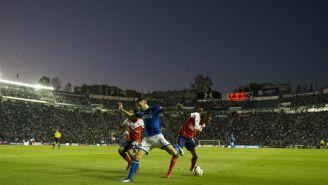 Partido Cruz Azul vs Veracruz en La Noria