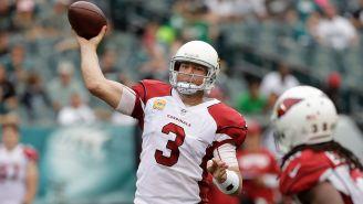 Palmer lanza el ovoide en un partido de los Cardinals