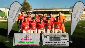 Club Deportivo Miguelturreño antes de un partido