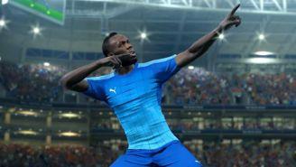 Así festeja el jamaiquino en el videojuego de futbol