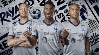 El nuevo jersey de los Rayados de Monterrey