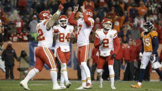 Kansas City Chiefs celebra un gol de campo