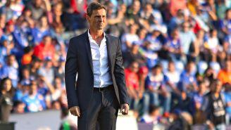 Diego Cocca, en el juego entre Xolos y Cruz Azul del C2018