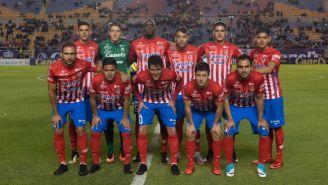 Once inicial del Atlético de San Luis frente a Alebrijes