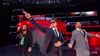 The Miz en RAW