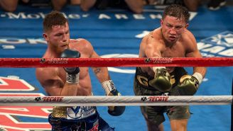 La pelea entre  Gennady Golovkin y Canelo Álvarez