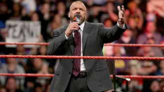 Triple H en un Monday Night RAW