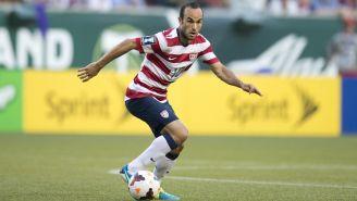 Donovan disputa un juego con Estados Unidos