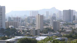 La ciudad de Honolulu, durante el sábado 13 de enero
