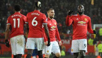 Lukaku celebra el tercer gol del encuentro