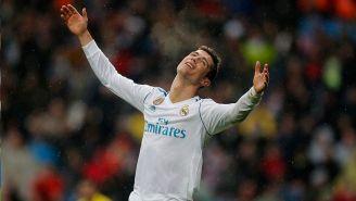 Cristiano Ronaldo se lamenta en juego contra Villarreal