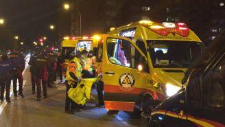 Servicios de emergencia trasladan al herido