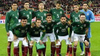 México previo al encuentro contra Polonia