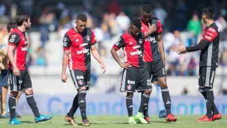 Atlas se lamenta derrota contra Pumas