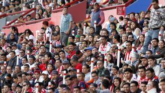 Aficionados, durante la J3 de la Liga MX Femenil