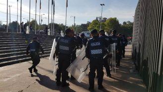 Policía arriba al Olímpico Universitario