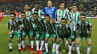 León previo a un encuentro de la Liga MX