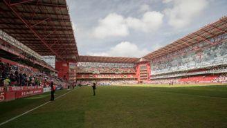 Estadio Nemesio Díez previo al encuentro contra Cruz Azul