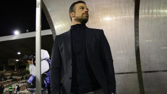 Rafa Puente Jr., previo a un juego de Copa MX