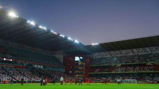 Estadio Nemesio Diez, previo al encuentro entre Toluca y Cruz Azul