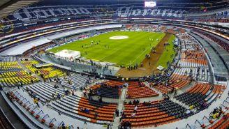 Estadio Azteca en el partido contra Lobos BUAP