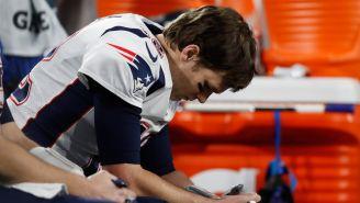 Brady se lamenta tras la derrota frente a Eagles