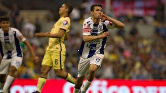 Hirving Lozano, tras anotar frente al América en su debut