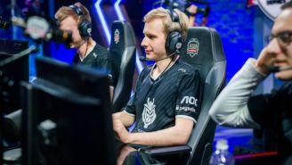 Marcin Jankowski, durante un evento de League of Legends