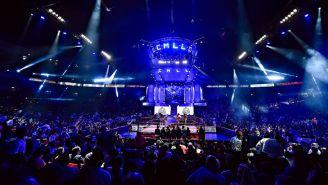 Arena México durante una función del CMLL