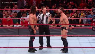 Careo entre Rollins y Bálor en RAW