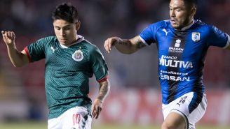 López durante el partido contra Gallos