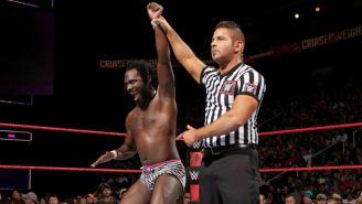 Rich Swann gana lucha en la División Crucero de WWE