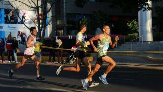 Corredores durante el Medio Maratón de Guadalajara