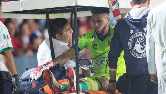 Gallese se retira del partido en el famoso carrito