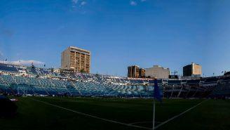 Así luce el Estadio Azul previo al duelo de Copa MX