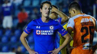 Carlos Fierro se lamenta al finalizar el encuentro contra Alebrijes