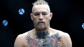 Conor McGregor previo a una pelea en UFC