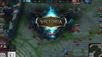 PEX Team se llevó los tres puntos contra Lyon Gaming