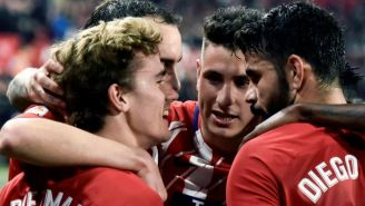 Atlético de Madrid festeja triunfo sobre el Sevilla