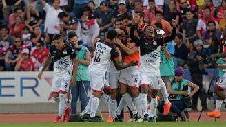 Lobos BUAP festeja triunfo frente a Veracruz en la Jornada 9