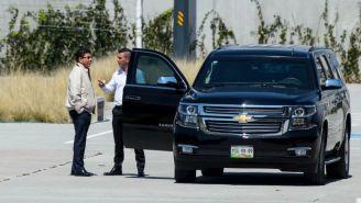 Fidel Kuri y su hijo arriban a la FMF