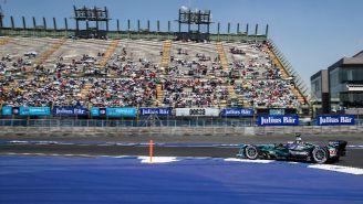 Así lucía el AHR durante las prácticas de la Fórmula E