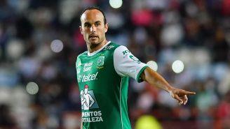 Donovan disputa un juego con León en el Clausura 2018