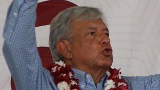 Andrés Manuel, en acto de campaña